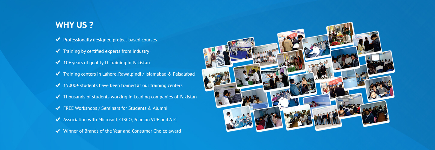 EVS is No 1 chain of IT Training Institutes in Pakistan